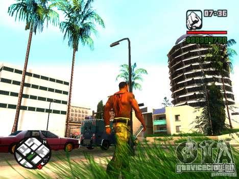 EnbSeries by gta19991999 v2 для GTA San Andreas четвёртый скриншот