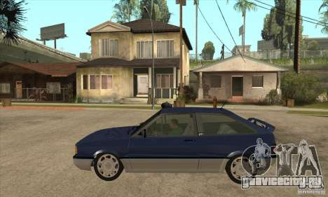 VW Gol GTI 1989 для GTA San Andreas вид слева