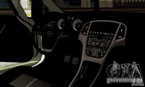 Opel Astra Senner для GTA San Andreas вид сбоку