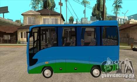 Iveco Eurocity для GTA San Andreas вид слева