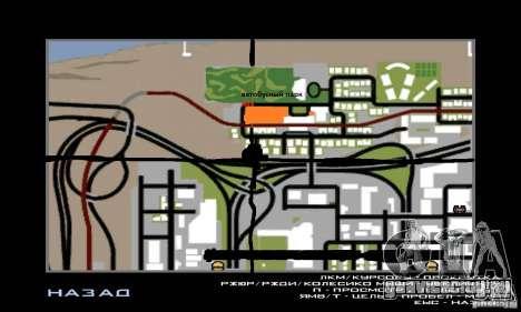 5 Автобусный Парк v1.0 для GTA San Andreas