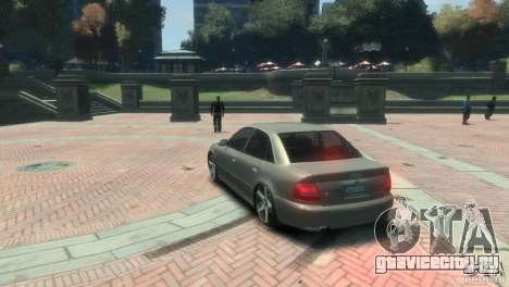 Audi S4 для GTA 4 вид справа