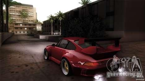 Porsche 993 RWB для GTA San Andreas вид слева