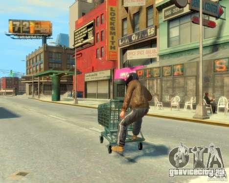 Тележка для GTA 4 вид слева
