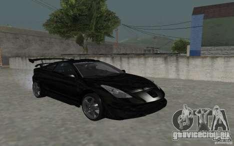 Toyota Celica для GTA San Andreas вид сверху