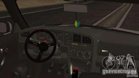 Volkswagen Corrado VR6 для GTA San Andreas вид сбоку