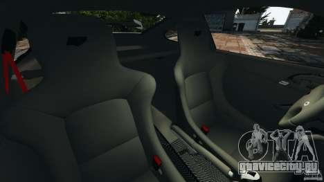 RUF RT12R 2011 для GTA 4 вид изнутри