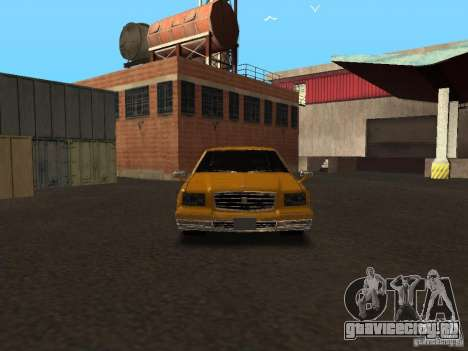 Toyota Century v2 для GTA San Andreas вид сзади