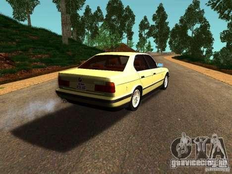 BMW 535 для GTA San Andreas вид справа