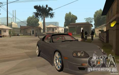 Toyota Supra Rz The Bloody Pearl 1998 для GTA San Andreas вид сзади