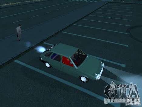 ВАЗ 2109 драг для GTA San Andreas вид слева