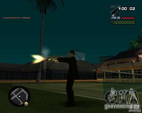 Tec 9 GOLD для GTA San Andreas четвёртый скриншот