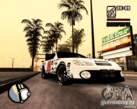 Dodge Nascar Beers Light 40 для GTA San Andreas