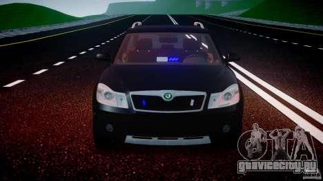 Skoda Octavia Scout Unmarked [ELS] для GTA 4