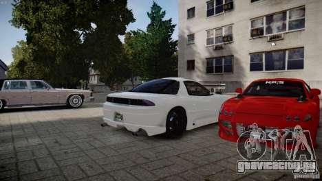 Mitsubishi 3000GT ST для GTA 4 вид слева