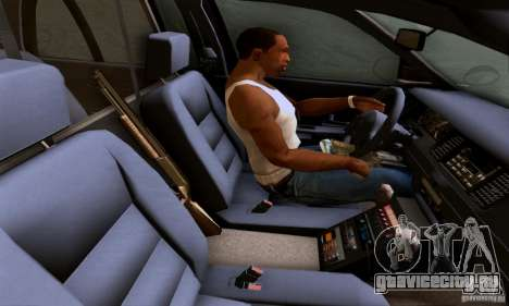 Ford Crown Victoria Mississippi Police для GTA San Andreas вид сзади слева