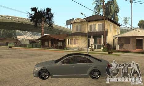 Mercedes Benz Panorama 2011 для GTA San Andreas вид слева