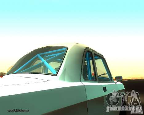 Газ Волга 2410 Drift Edition для GTA San Andreas вид сзади