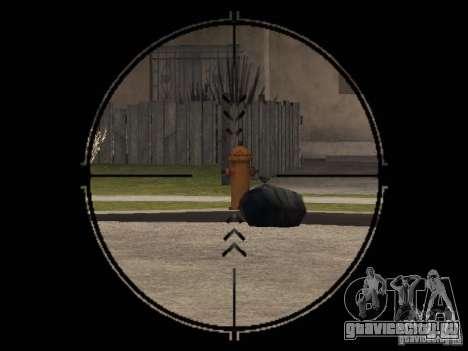 ПП-19 Бизон с оптикой для GTA San Andreas третий скриншот