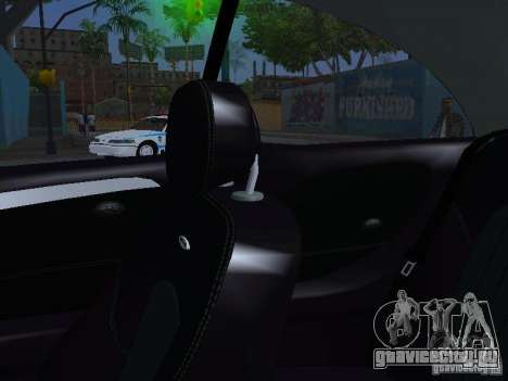 Mercedes-Benz CLK55 AMG для GTA San Andreas вид снизу