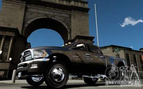 Dodge Ram 3500 Stock Final для GTA 4 вид сверху