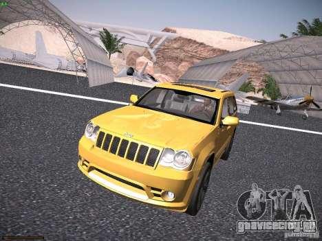 Jeep Grand Cherokee SRT8 для GTA San Andreas вид слева