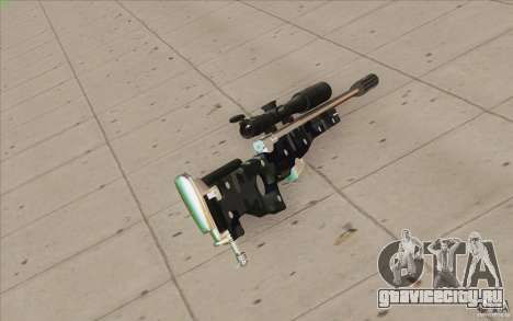 Low Chrome Weapon Pack для GTA San Andreas пятый скриншот