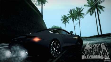 Aston Martin Vanquish V12 для GTA San Andreas вид справа