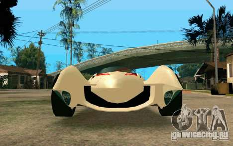 Mach 5 для GTA San Andreas вид справа