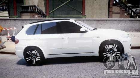 BMW X5M Chrome для GTA 4 вид сбоку