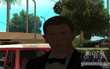 Агент 007 для GTA San Andreas третий скриншот