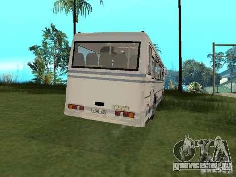ПАЗ 4230 Аврора для GTA San Andreas вид справа