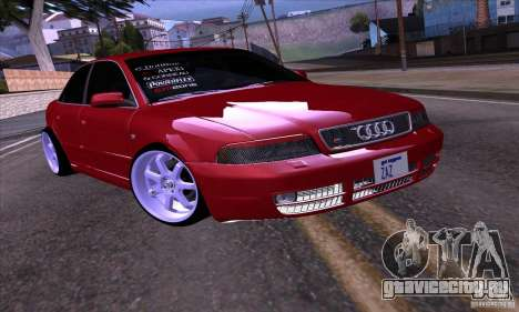 Audi S4 Light Tuning для GTA San Andreas вид слева