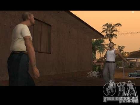 Varrio Los Aztecas для GTA San Andreas шестой скриншот
