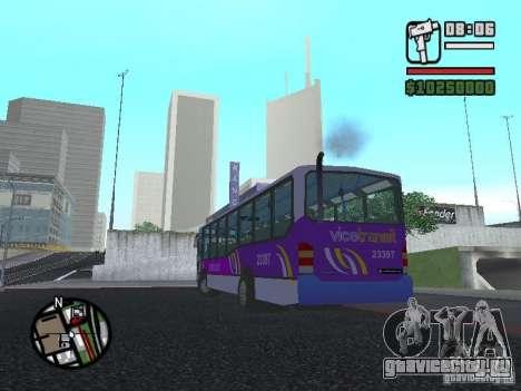 Marcopolo Viale III для GTA San Andreas вид слева