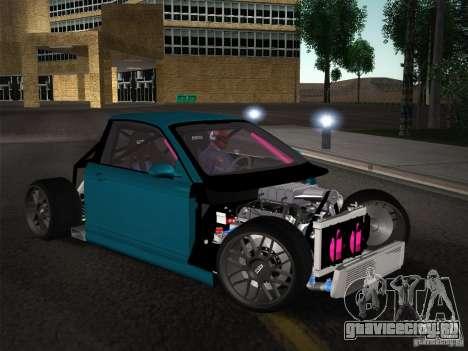 BMW E46 Drift II для GTA San Andreas вид снизу