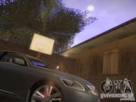 Lexus GS450H для GTA San Andreas вид слева