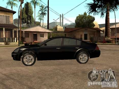 Nissan Teana для GTA San Andreas вид слева