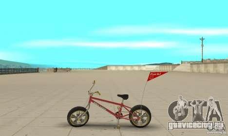 BMX Long 2 New Wheel для GTA San Andreas вид слева
