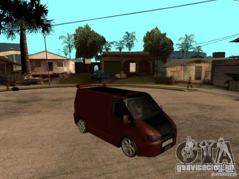Ford Transit Tuning для GTA San Andreas