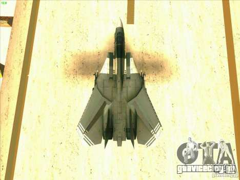 F-14 Tomcat Schnee для GTA San Andreas двигатель