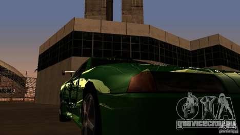 Elegy v0.2 для GTA San Andreas вид изнутри