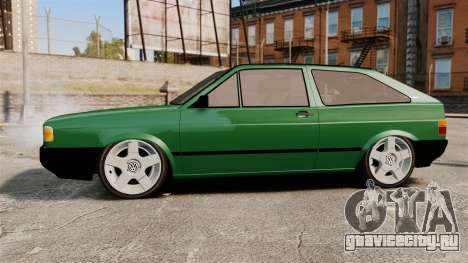 Volkswagen Gol GL 1992 Edit для GTA 4 вид слева
