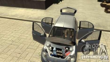 Nissan Micra для GTA 4 вид снизу
