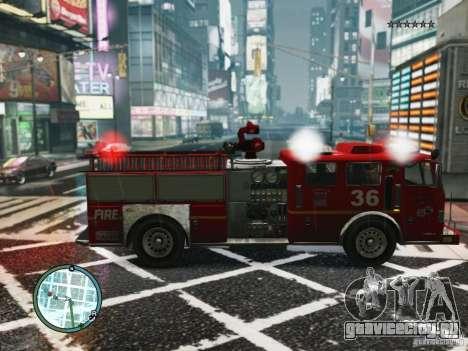 New LCFD Car для GTA 4 вид сзади слева