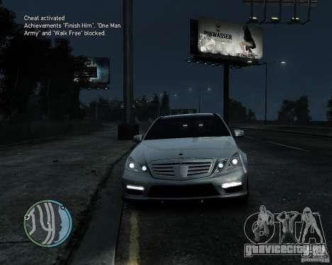 Mercedes Benz B63 S Brabus v1.0 для GTA 4 вид слева