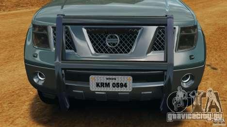Nissan Frontier DUB v2.0 для GTA 4 вид снизу