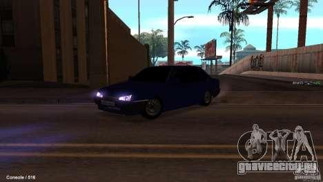 BАЗ 21099 для GTA San Andreas вид сбоку