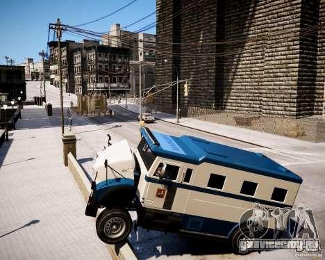 Russian Police Stockade для GTA 4 вид справа