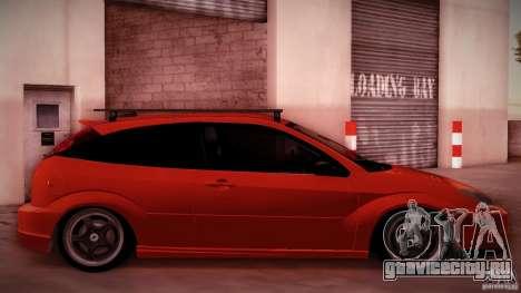 Ford Focus SVT Clean для GTA San Andreas вид сзади